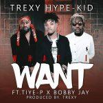 Trexy Hype Kid - Ft Tiye P X Bobby Jay-What I Want-Prod By Trexy