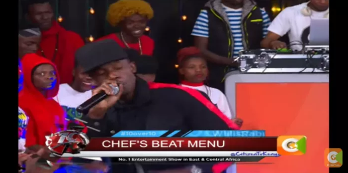 Chef 187 Talks About His Music, Coke Studio & Performs on Kenya's Citizen TV