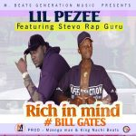 Lil Peezy  -  Rich in mind Ft. Stevo -  (Prod King Nachi x Mzenga Man)